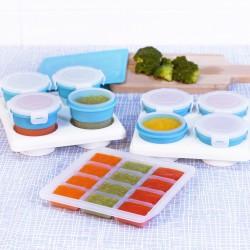 (預訂)【台灣製】2angels矽膠副食品儲存系列套裝