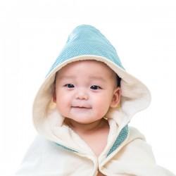 (預訂)【台灣製】Nizio 小蘑菇天然棉紗浴巾(綠色)