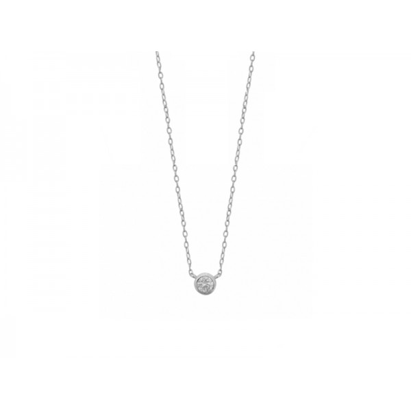 西班牙 | Aran Jewels Basic Silver Necklace