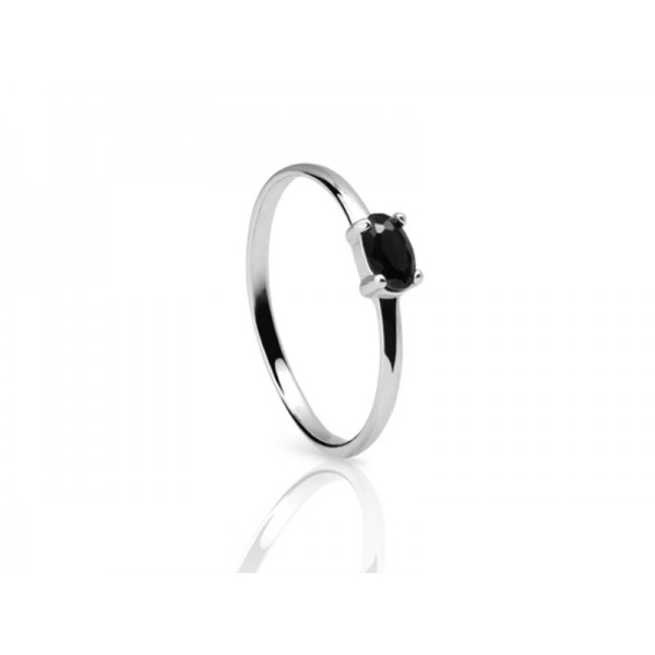 西班牙| Aran Jewels Anastasia Silver Ring