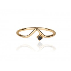 西班牙 | Aran Jewels Right Black Ring