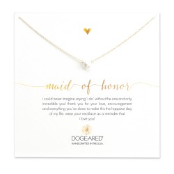 美國 | Dogeared maid of honor small pearl necklace