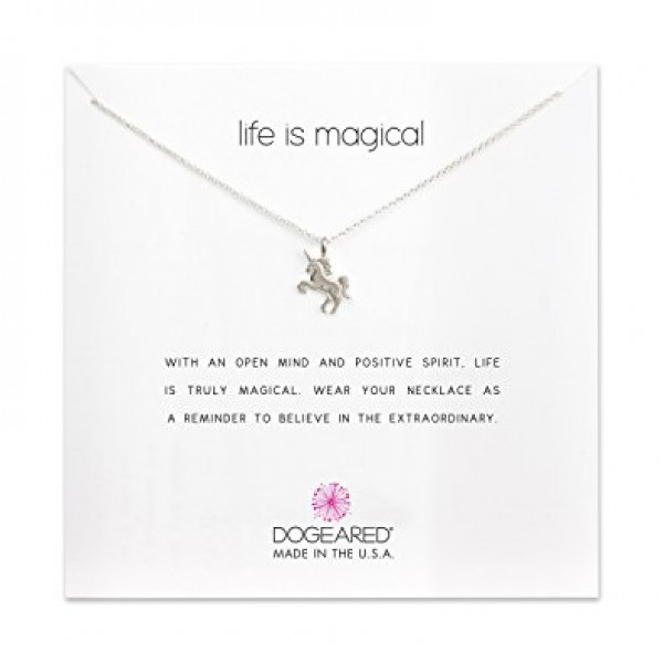 美國 | dogeared life is magical unicorn necklace 神奇獨角獸。項鏈