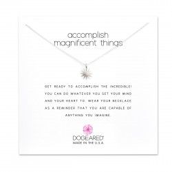美國|Dogeared accomplish magnificent things starburst necklace 達成心中目標。項鏈