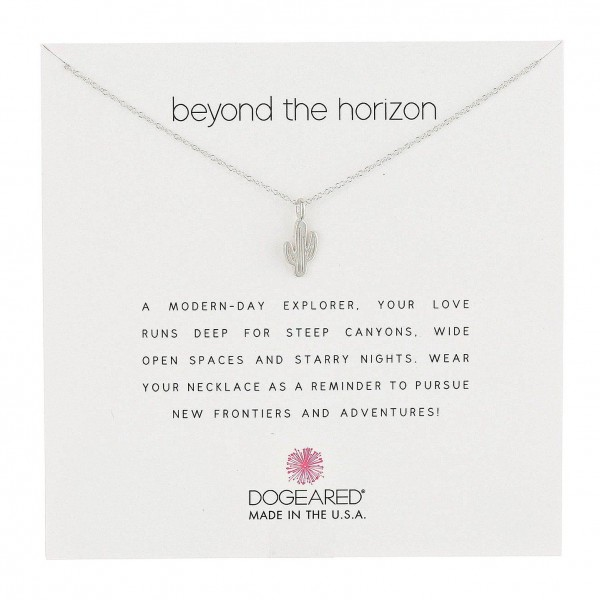 美國|Dogeared beyond the horizon cactus necklace 仙人掌。項鏈