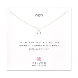 美國 | Dogeared wishbone necklace 許願骨。項鏈