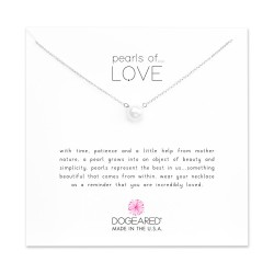 美國 | Dogeared pearls of love small white pearl necklace 愛之小珍珠。項鏈