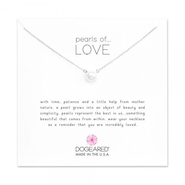 美國 | Dogeared pearls of love small white pearl necklace 愛之小珍珠。項鏈