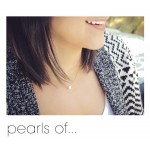 美國|Dogeared pearls of friendship small white pearl necklace 友誼之小珍珠。項鏈