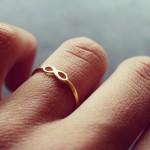 美國 | Dogeared infinite love infinity ring 無限愛。戒指
