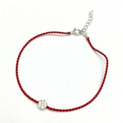 韓國 | 純銀鋯石紅手繩