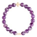 美國 | Charged Jewelry Amethyst & Gold Elastic Bracelet  紫水晶手鏈
